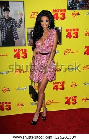 """Lilly Ghalichi at the """"Movie 43"""" Los Angeles Premiere, Chinese Theater, Hollywood, CA 01-23-13"""