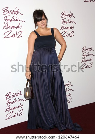 Lily Allen aka Lily Cooper arriving for The British Fashion Awards 2012 held at The Savoy, London. 27/11/2012 Picture by: Henry Harris
