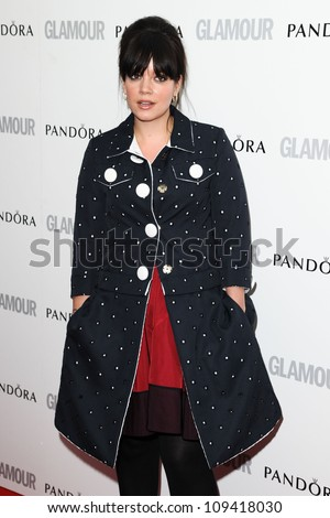 Lily Allen arriving for the Glamour Women Of The Year Awards 2012, at Berkeley Square, London. 29/05/2012 Picture by: Steve Vas / Featureflash