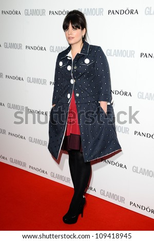 Lily Allen arriving for the Glamour Women Of The Year Awards 2012, at Berkeley Square, London. 29/05/2012 Picture by: Steve Vas / Featureflash - stock photo