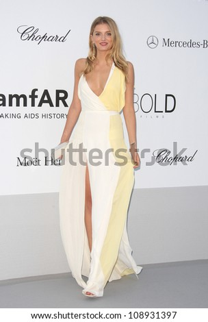 Lily Donaldson arriving at AmfAR's Cinema Against Aids gala 2012 during the 65th annual Cannes Film Festival, Cannes, France. 24/05/2012 Picture by: Henry Harris / Featureflash