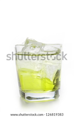 lime alcohole
