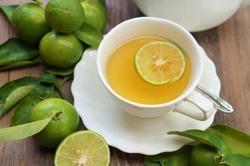 lime and lime tea