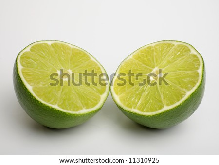 lime cut in half #11310925
