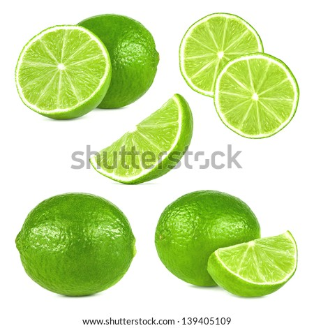 lime fruit set #139405109