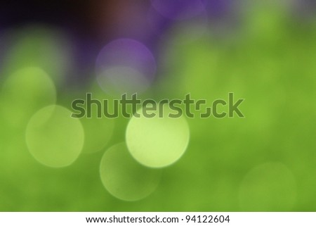 Lime Green Sequin Blur