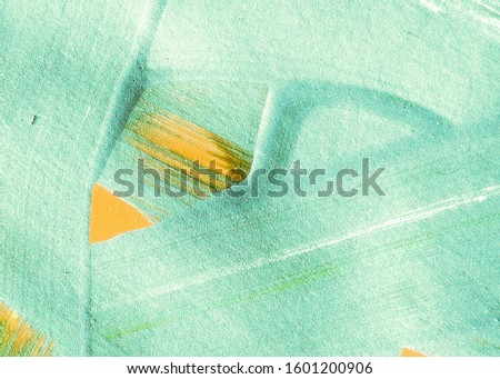 Lime Green Summer Dirty Textile Design. Grassy Color Mustard Abstract Art. Fresh Green Yellow Spring Poster Idea. Natural Green Sunny Acrylic Painting. Leafy Color Mustard Oil Painting.