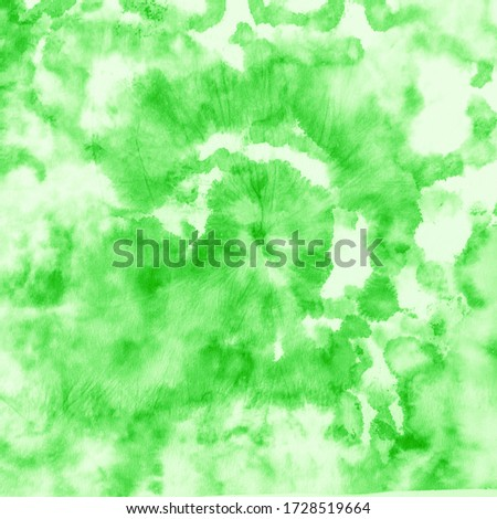 Lime Green Tie Dye Creative Pattern Tile. Fashion Textile Watercolour. Tie Dye Rough Ornaments Cover. Tie Dye Dirty Ink Watercolor. Tie Dye Painting Dirty Art.