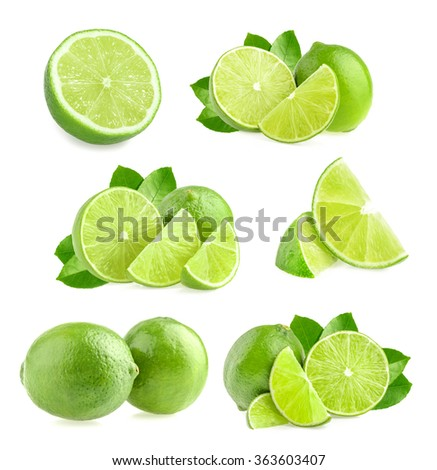 Lime isolated #363603407