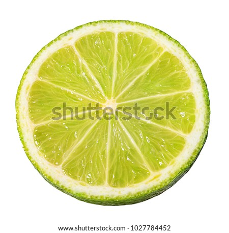 lime isolated on white background #1027784452