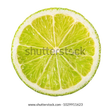 lime isolated on white background #1029911623