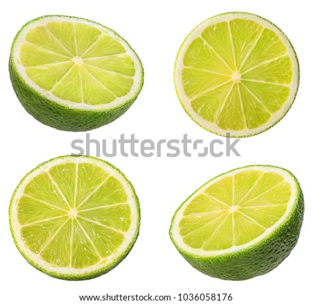 lime isolated on white background #1036058176