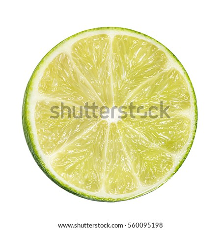 lime isolated on white background #560095198