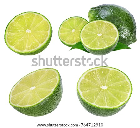 lime isolated on white background #764712910