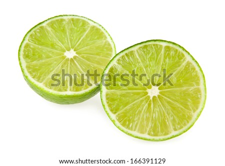 lime on a white background #166391129