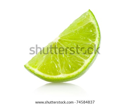 lime slice #74584837
