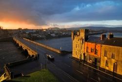 Limerick City river view photo