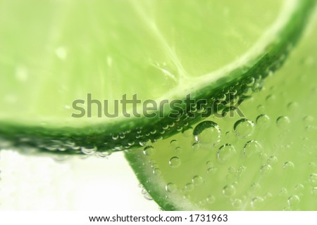 limes and bubbles