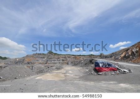 Limestone Quarry, Thailand