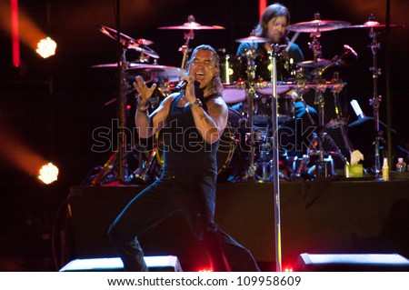 LINCOLN, CA - AUGUST 3: Creed performs at Thunder Valley Casino Resort in Lincoln, California on August 3rd, 2012