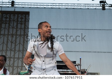 LINCOLN, CA - JULY 14: Earth Wind and Fire performs at Thunder Valley Casino Resort in Lincoln, California on July 14, 2012