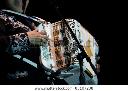 LINCOLN, CA - September 17th: Ramon Ayala performs at Thunder Valley Casino and Resort in Lincoln, California on September 17th, 2011