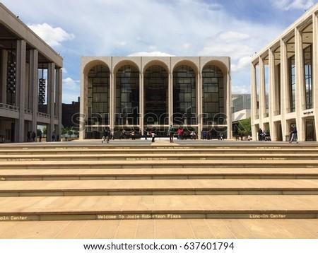Lincoln Center, New York #637601794