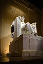 Lincoln Memorial in Washington, DC.