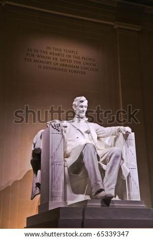 Lincoln Memorial, Washington D.C. USA