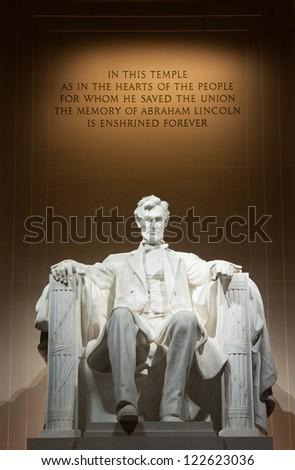 Lincoln Memorial Washington DC Stock photo ©
