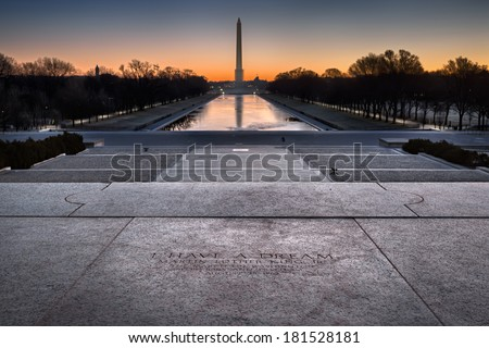 Lincoln Memorial, Washington DC, December 2013