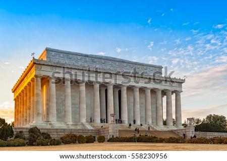 Lincoln Memorial, Washington, DC, USA Stock photo ©