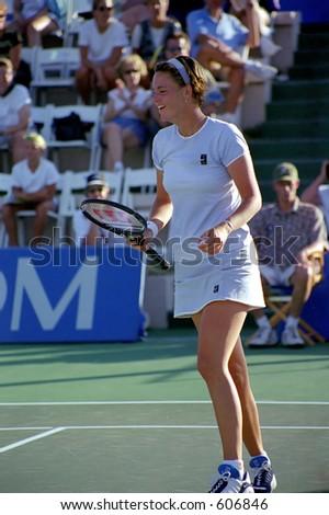 Lindsay Davenport no clássico 1999 do tênis do TIG