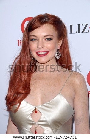 "Lindsay Lohan at the ""Liz and Dick"" Premiere Private Dinner Event, Beverly Hills Hotel, Beverly Hills, CA 11-20-12"