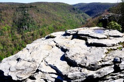 Lindy Point Overlook, Blackwater Falls State Park, West Virginia, USA