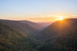 Lindy Point Sunburst in West Virginia