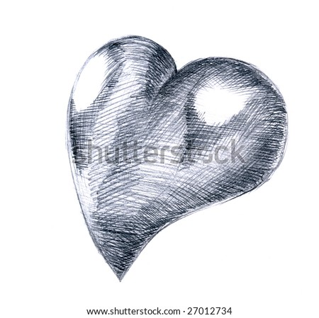 cool love heart drawings. cool love heart drawings.