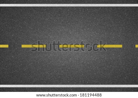 line marking on road texture background #181194488