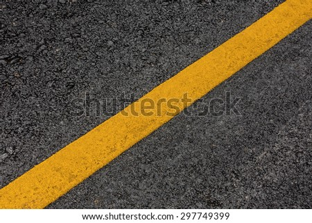 Line of traffic on asphalt street road texture background