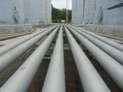 Line pipes for transfer hydrocarbon at Petrolium Industrial