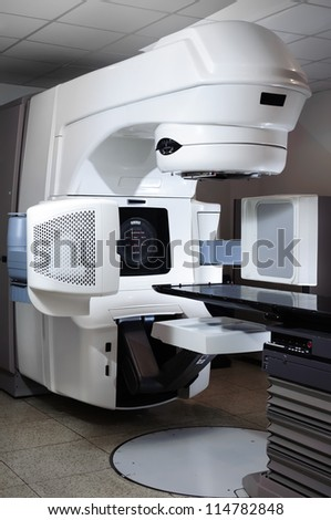 Linear Accelerator at hospital