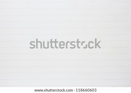 Lined Paper - stock photo
