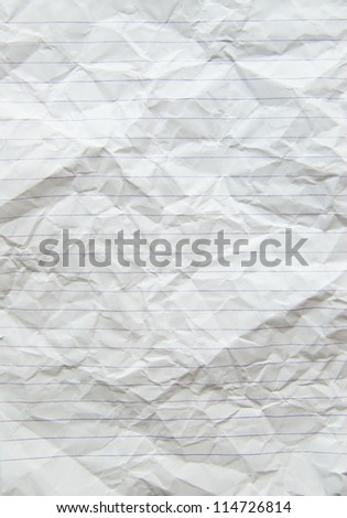 lined paper background in a notepad