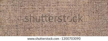 Linen cloth banner. Pure linen texture. Vintage linen fabric background. Natural linen texture