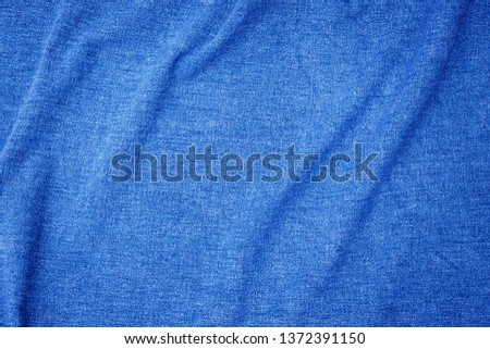 Blue burlap fabric closeup for texture and backgrounds