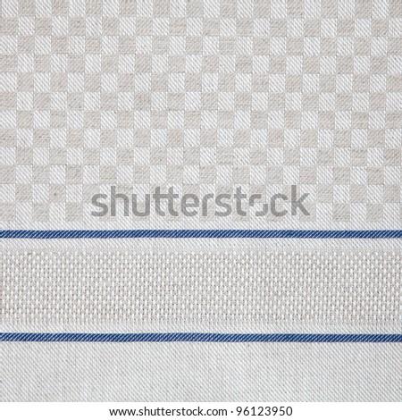 linen texture fabrics - stock photo