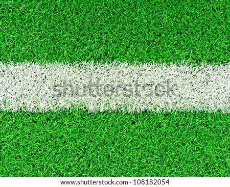 lines on soccer field