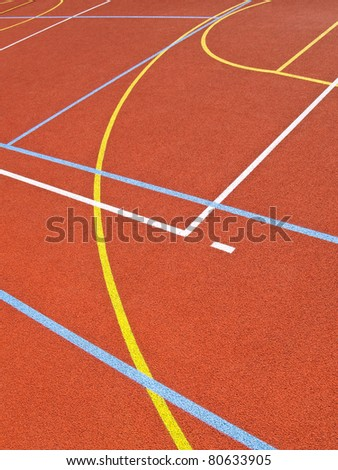 Lines on the pitch