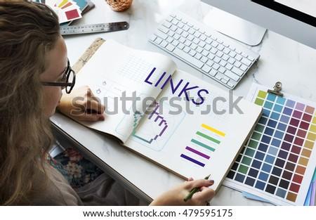Links Seo Webinar Hand Cyberspace Concept - Shutterstock ID 479595175