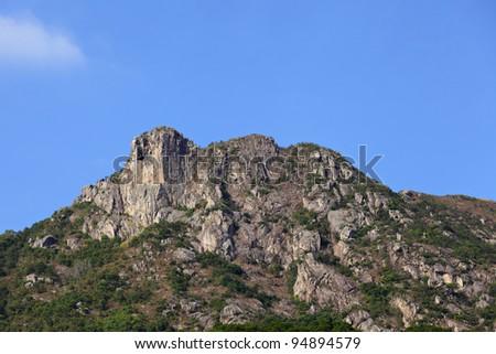 lion Rock in Hong Kong